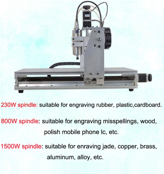 Desktop CNC Engraving Machine 2